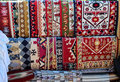 Traditional Romanian Carpets Royalty Free Stock Photo