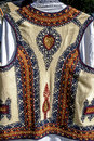 Traditional romanian folk costume detail old specific banat romania Stock Photo