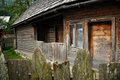 Traditional romanian rural house Stock Photography