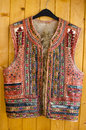 Traditional romanian vest front view of traditionally handmade specific to maramures area in romania stunning antique hand Stock Image