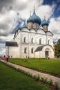 Traditional russian church Royalty Free Stock Photo