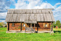 The traditional russian house Royalty Free Stock Photo