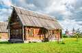 Traditional russian house in Suzdal Royalty Free Stock Photo