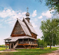 Traditional Russian Wooden Wooden Church of St Royalty Free Stock Photo