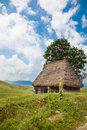 Traditional rustic house in Apuseni Mountains Royalty Free Stock Photography
