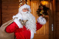 Traditional Santa Claus With B...