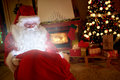 Traditional Santa Claus With M...