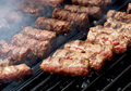 Traditional sausage Stock Photos