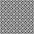 Traditional seamless pattern, rounded crosses