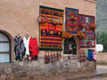 Traditional shop in juyjuy Royalty Free Stock Images