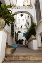 Traditional Spanish Street In ...