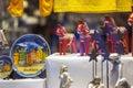 Traditional swedish souvenirs... Royalty Free Stock Photo