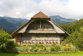 Traditional swiss farm house Royalty Free Stock Photography