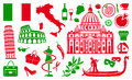 Traditional symbols of Italy Royalty Free Stock Photography