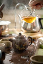 Traditional tea ceremony Royalty Free Stock Photo
