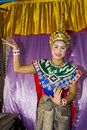Traditional thai dance Royalty Free Stock Photos