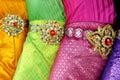 Traditional thai dance dress Royalty Free Stock Photo