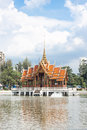 Traditional thai style architecture Stock Images