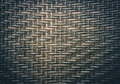 Traditional thai style pattern nature background of brown handicraft weave texture wicker surface for furniture material. Royalty Free Stock Photo