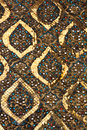 Traditional thai style pattern stock photos Royalty Free Stock Images
