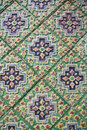Traditional thai style pattern stock photos Stock Image