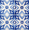 Traditional tiles from porto portugal azulejos facade of old house in Stock Images
