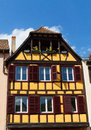 Traditional timbered house in petite france, Strasbourg, Alsace, France Royalty Free Stock Photo
