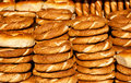 Traditional turkish bagel Royalty Free Stock Photo