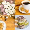 Traditional Turkish Delight Lokum Royalty Free Stock Photo
