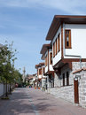 Traditional Turkish Houses Royalty Free Stock Images