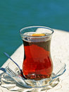 Traditional Turkish Tea Stock Image