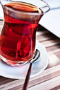 Traditional turkish tea Royalty Free Stock Photo