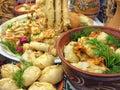 Traditional ukrainian food Royalty Free Stock Image