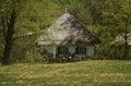 Traditional ukrainian house Royalty Free Stock Photo