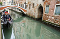 Traditional venice gandola italy Royalty Free Stock Photo