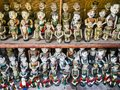 Traditional water puppet dolls in Hanoi, Vietnam Royalty Free Stock Photo
