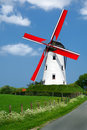 Traditional windmill Royalty Free Stock Photo