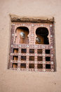 Traditional window, Timbuktu. Royalty Free Stock Photo