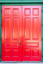 Traditional wooden door Royalty Free Stock Photos