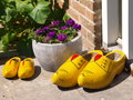 Traditional wooden shoes Royalty Free Stock Photo