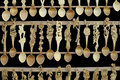 Traditional wooden spoons Royalty Free Stock Photos