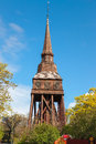 Traditional wooden swedish church old Royalty Free Stock Photo