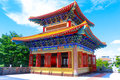 Traditionele chinese stijltempel in wat leng noei Stock Afbeelding