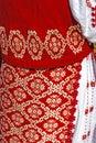 Tradycyjny rumuński port kobieta clothes Obrazy Stock