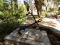 Trafalgar cemetery gibraltar graves of deceased in battle of Stock Image