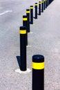 Traffic bollards
