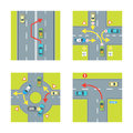 Traffic Conditions Set. Vector