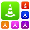 Traffic cone set collection