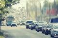 Traffic congestion Royalty Free Stock Photo