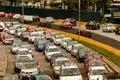 Traffic - rush hour Mexico City Royalty Free Stock Photo